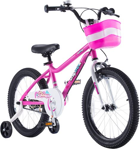 8. Chipmunk RoyalBaby MK Sports Kids Bike for Girls and Boys