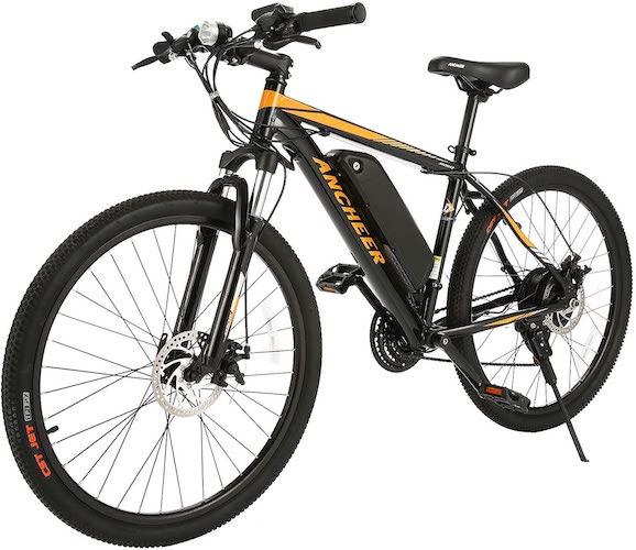 1.ANCHEER 350/500W Electric Bike 26/27.5'' Adults Electric Bicycle/Electric Mountain Bike