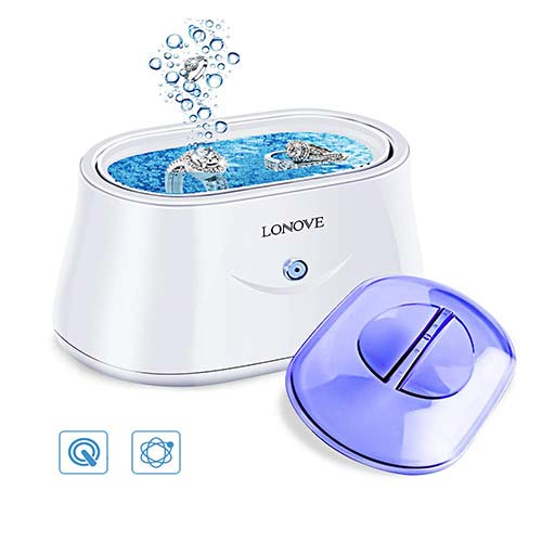 4. Ultrasonic Jewelry Cleaner - Professional Ultrasonic Cleaner