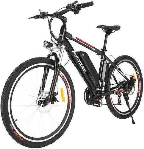 5.ANCHEER 500W/250W Electric Bike Adult Electric Mountain Bike