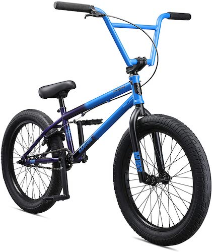 2. Mongoose Legion Freestyle BMX Bike Line for Beginner-Level to Advanced Riders