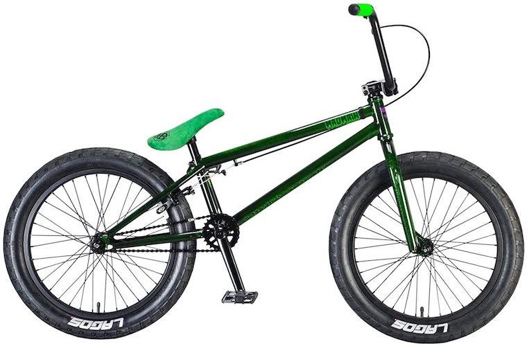 8. Mafiabikes Madmain 20 Green Crackle Harry Main BMX Bike
