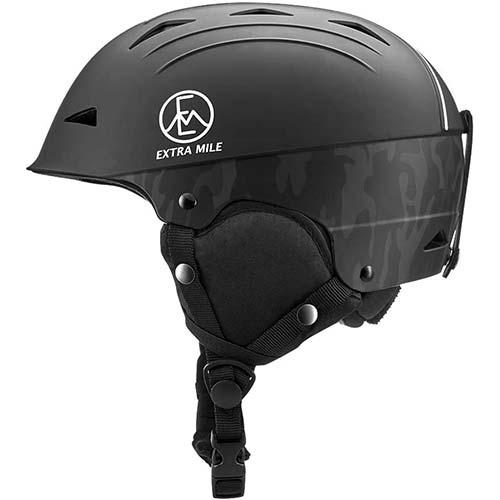 10. Extra Mile Ski & Snowboard Helmet w/Active Ventilation