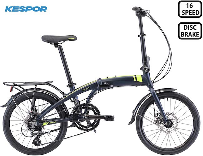 8. KESPOR Venture Folding Bike Commuter