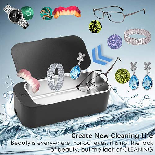 10. Professional Jewelry Cleaner Machine, Sonar X Ultrasonic Cleaner for Jewelry