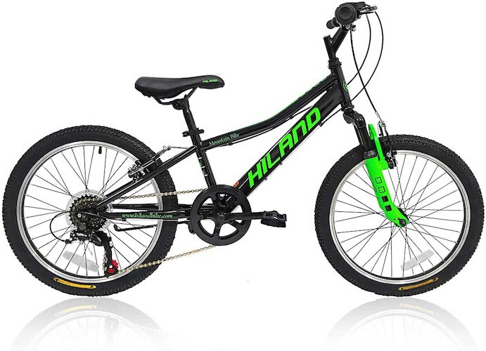 6. Hiland 20'' Cuddy Kids Mountain Bike for 5-9 Ages Boys Girls