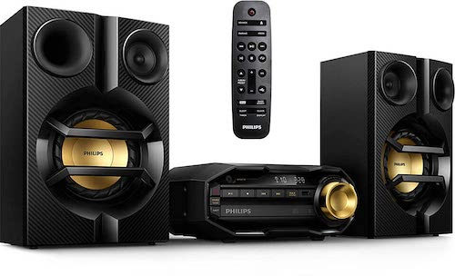 10. Philips FX10 Bluetooth Stereo System for Home