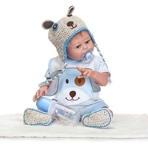 3. TERABITHIA 20inch Alive Silicone Full Body Reborn Baby Boy Dolls