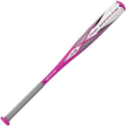 3. EASTON PINK SAPPHIRE -10 Girls / Youth Fastpitch Softball Bat | 2020 | 1 Piece Aluminum | ALX50 Military Grade Aluminum