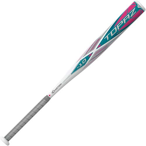 5. EASTON TOPAZ -10 Fastpitch Softball Bat | 2020 | 1 Piece Aluminum | ALX50 Military Grade Aluminum