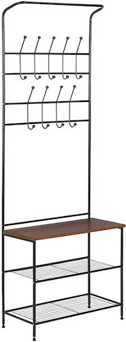 4.Honey-Can-Do Entryway Storage Valet, 25.75