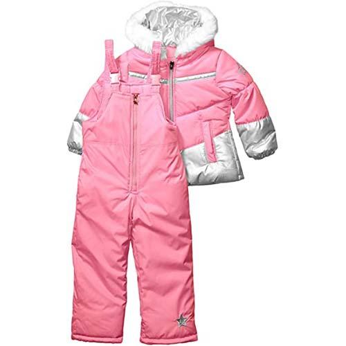 9. XMWEALTHY Unisex Baby Cloth Winter Coats Cute Newborn Infant Jumpsuit Snowsuit Bodysuits