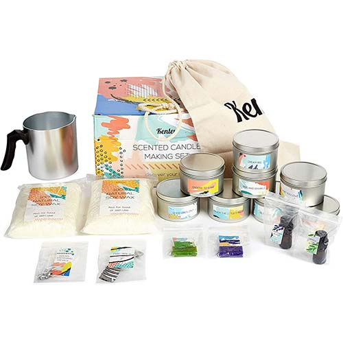 8. Candle Making Kit - Gift Set for Kids & Adults with Candle Making Supplies