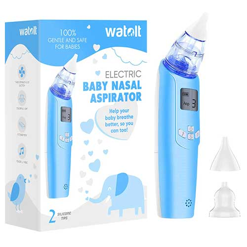 3. Baby Nasal Aspirator - Electric Nose Suction for Baby - Automatic Booger Sucker