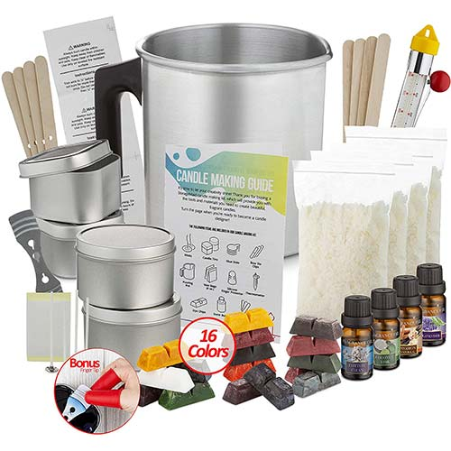 3. Candle Making Kit - Candle Kit For Making Candles - Candle Kit For Soy Candle Kit To Make Your Own Candles Set