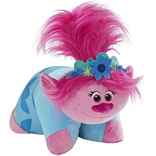 3. Pillow Pets DreamWorks Poppy Stuffed Animal – Trolls World Tour Plush Toy