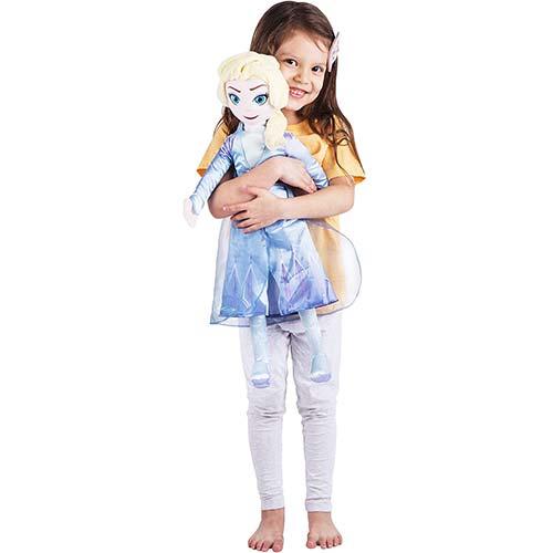 1. Franco Kids Bedding Super Soft Plush Cuddle Pillow Buddy, One Size, Disney Frozen 2 Elsa