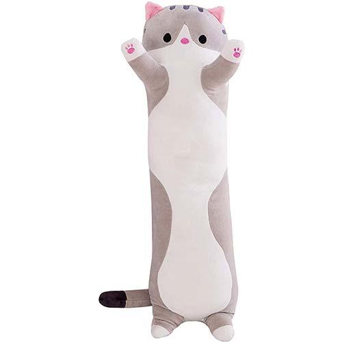 2. Aslion Cute Plush Cat Doll Soft Stuffed Kitten Pillow Doll Toy Gift for Kids Girlfriend
