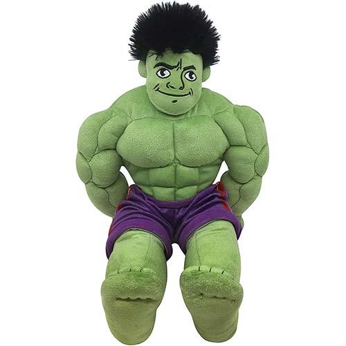 10. Jay Franco Marvel Super Hero Adventures Toddler Hulk Plush Stuffed Pillow Buddy - Super Soft Polyester Microfiber, 18 inch