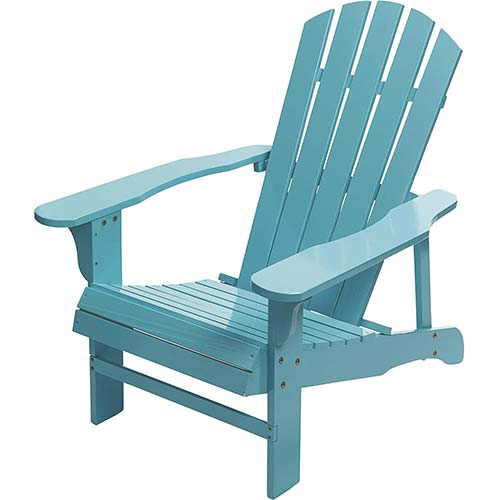 5. Leigh Country Classic Painted Acacia Wood Adirondack Chair