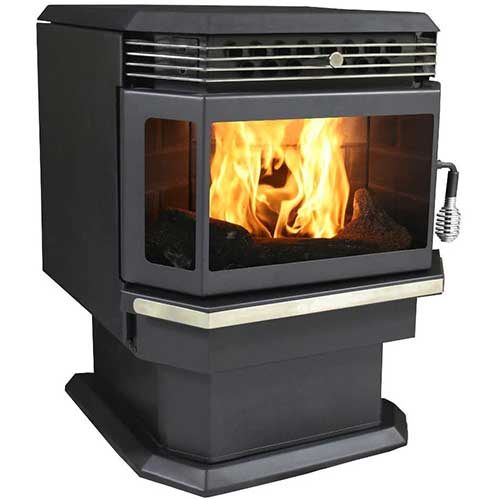 1. US Stove 5660 Bay Front Pellet Stove