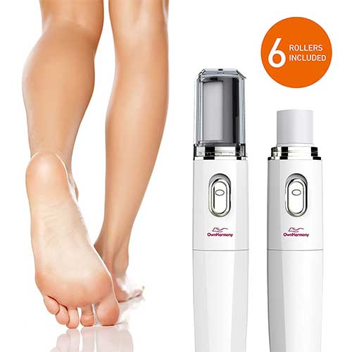 4. Electric Nail File Kit & Callus Remover (4 in 1) Best Pedicure Tools to Polish Nails