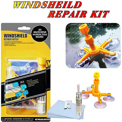 9. YOOHE Car Windshield Repair Kit - Windshield Chip Repair Kit