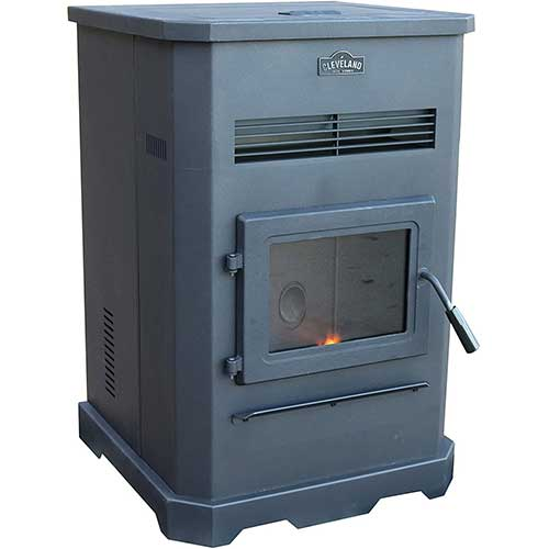 3. Cleveland Iron Works PS130W-CIW Pellet Stove