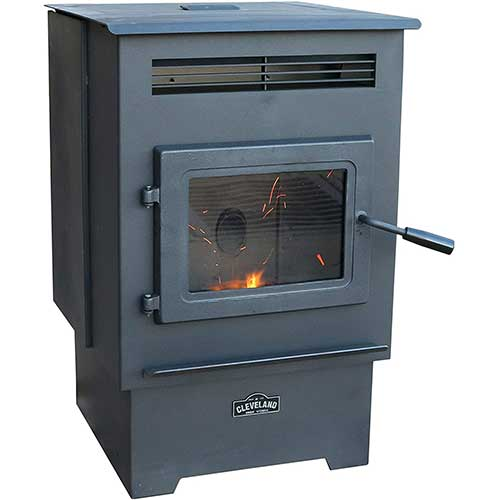 5. Cleveland Iron Works PS60W-CIW Pellet Stove