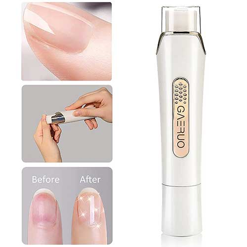 2. Premium Electric Manicure Pedicure Tool, Rechargeable Nail Buffer and Polisher