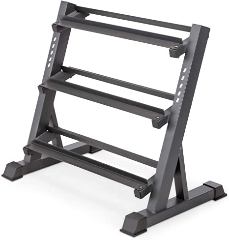 6. Marcy 3 Tier Metal Steel Home Workout Gym