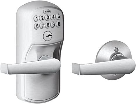7. Schlage FE575 PLY 626 ELA Plymouth Keypad Entry
