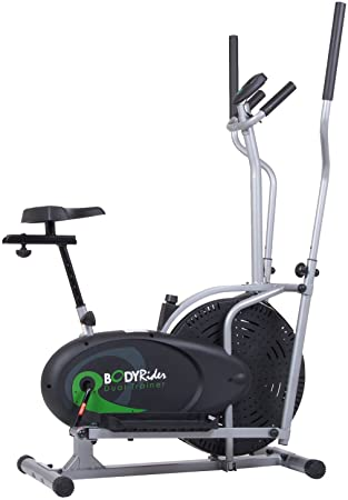 9. Body Rider Elliptical Trainer and Exercise Bike