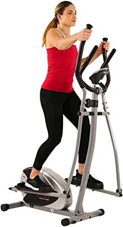 7. Sunny Health & Fitness SF-E905 Elliptical Machine Cross Trainer