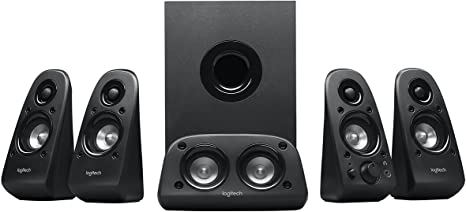 5. Logitech Z506 Surround Sound Home Theater Speaker System