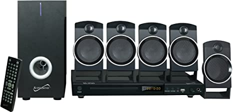 4. Supersonic SC37HT 5.1 Channel DVD Home Theater System