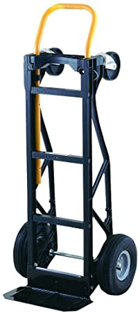 4. Harper Trucks 700 lb Capacity Glass Filled Nylon Convertible Hand Truck and Dolly