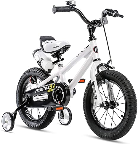 1. RoyalBaby Kids Bike Boys Girls Freestyle Bicycle 12 14 16 inch with Training Wheels