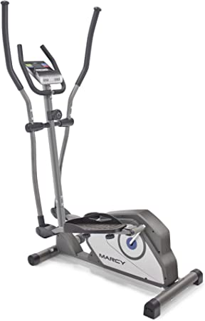 5. Marcy Magnetic Elliptical Trainer Cardio Workout Machine