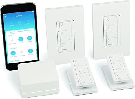 5. Lutron Caseta Wireless Smart Light Dimmer Switch