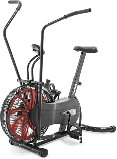 7. Marcy Fan Exercise Bike with Air Resistance System