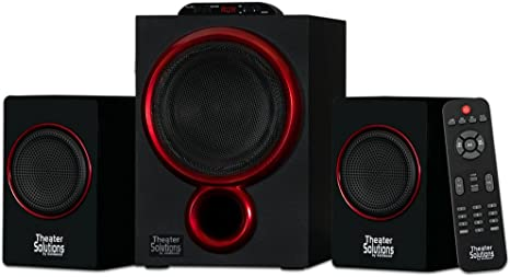 2. Theater Solutions by Goldwood Bluetooth 2.1 Speaker System