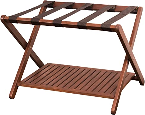 3. Merry Products Luggage Rack
