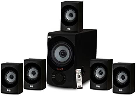 1. Acoustic Audio AA5172 700W Bluetooth Home Theater 5.1 Speaker System