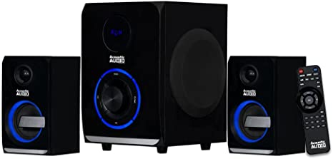 7. Acoustic Audio LED Bluetooth 2.1-Channel Home Theater