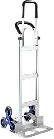 7. Goplus Aluminum Hand Truck Stair Climber Hand Trucks