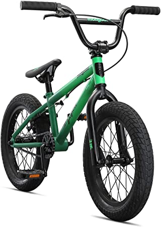 3. Mongoose Legion Freestyle Sidewalk BMX Bike for-Kids, -Children and Beginner-Level to Advanced Riders