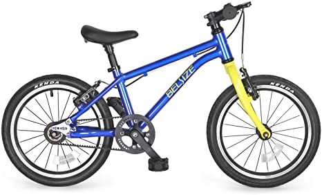 4. BELSIZE 16-Inch Belt-Drive Kid's Bike, Lightweight Aluminium Alloy Bicycle