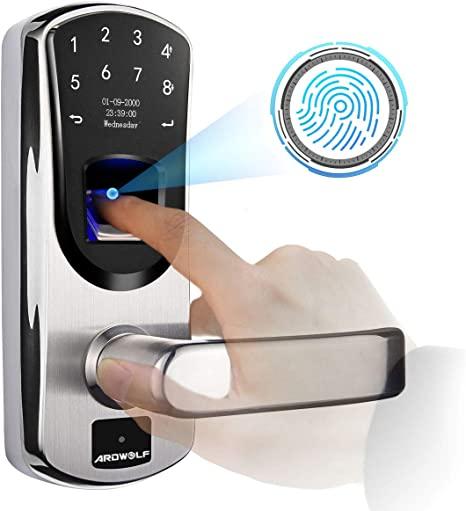 9. Ardwolf A60 Biometric Door Lock