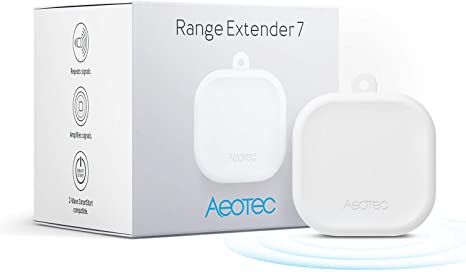 9. Aeotec Range Extender 7 Zwave Repeater Work with Zwave Hub SmartThings Fibaro (One Pack)